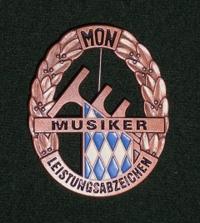 Bronzene Musikerleistungsabzeichen